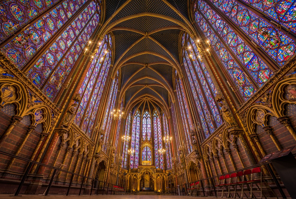 Church Sainte Chapelle - Paris
