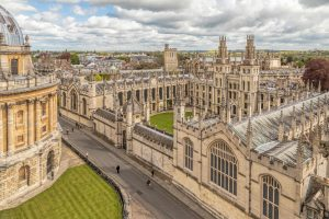 The medieval Oxford University